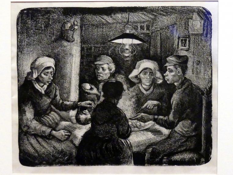 Vincent van Gogh: Die Kartoffelesser, 1885