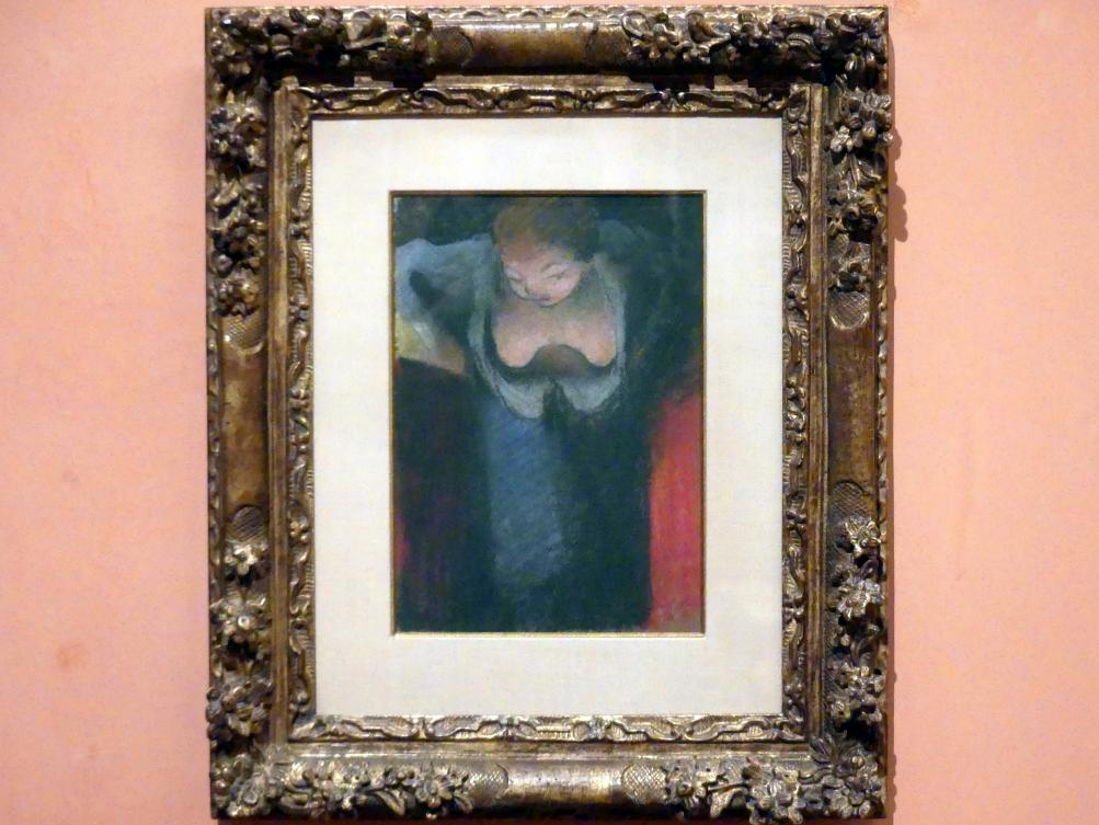 Édouard Vuillard: Die Sängerin, 1891 - 1892