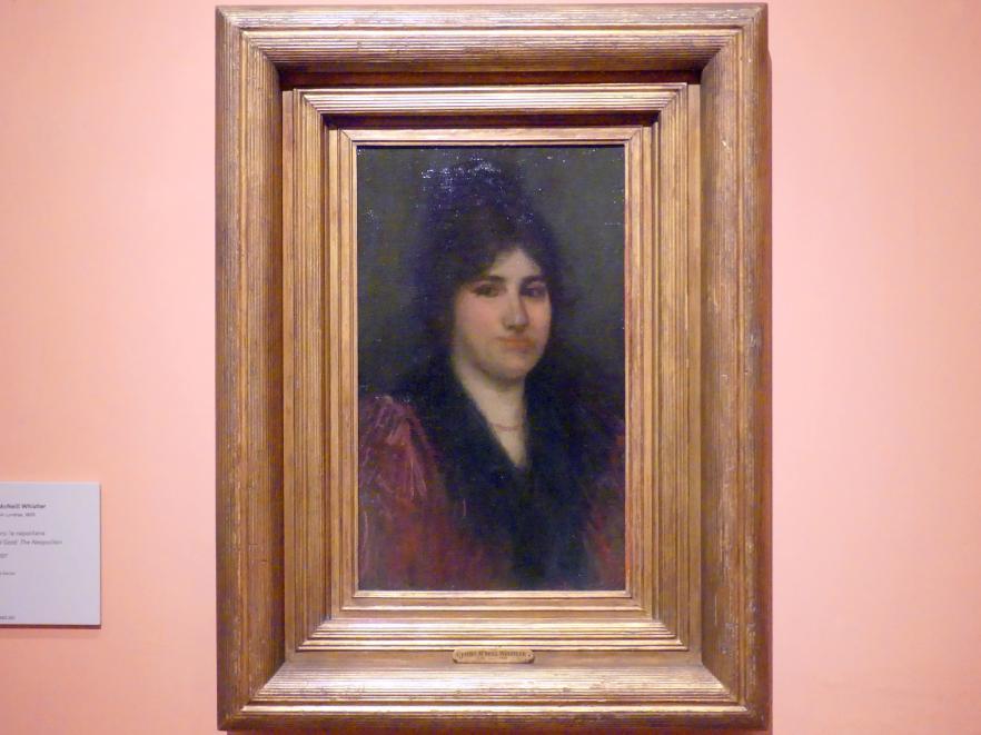 James McNeill Whistler: Rosa und gold: die Neapolitanerin, um 1897