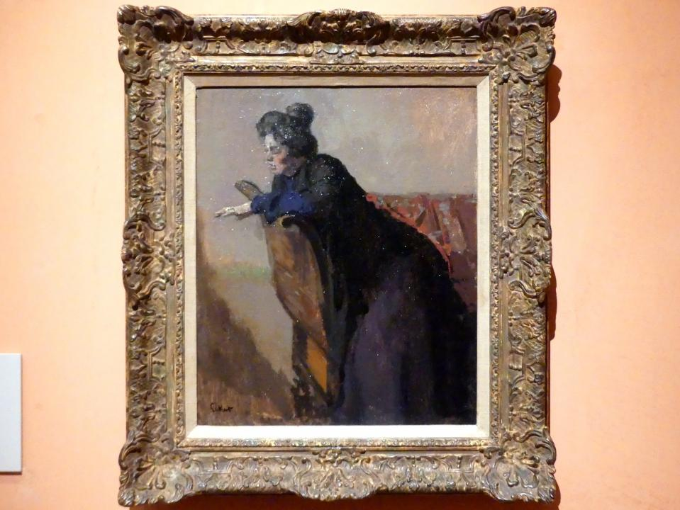 Walter Richard Sickert: Die Josephine. Der Ring, 1903 - 1904
