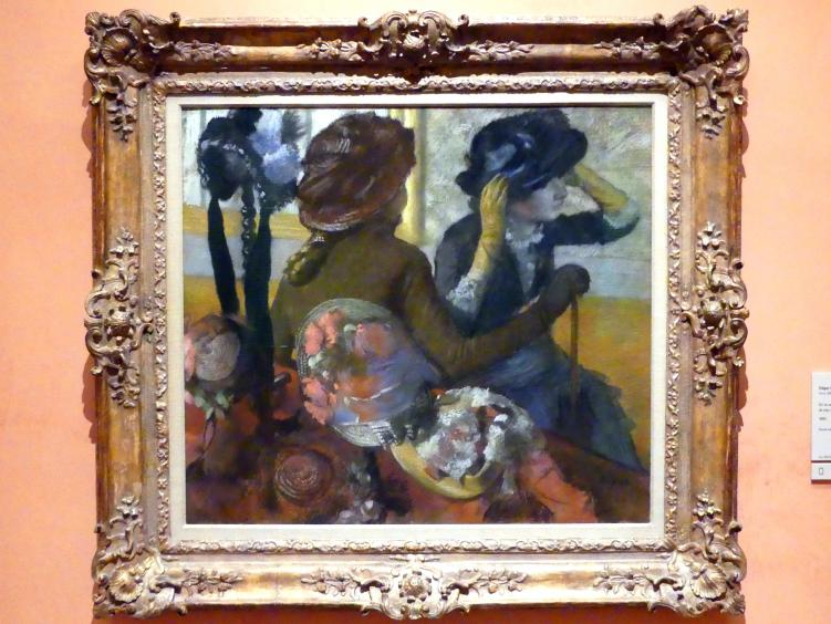 Edgar Degas: Beim Hutmacher, 1882