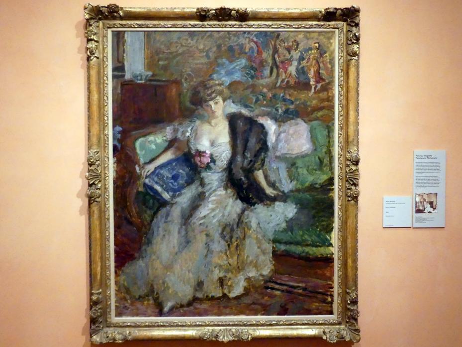 Pierre Bonnard: Misia Godebska, 1908