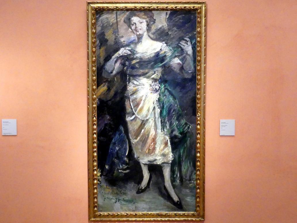 Lovis Corinth: Modenschau, 1921