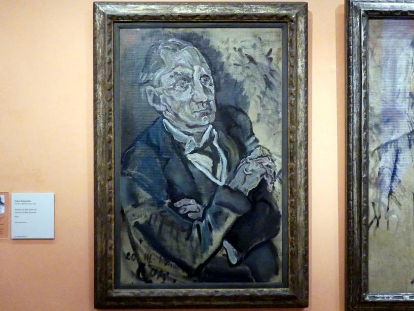 Oskar Kokoschka: Porträt von Max Schmidt, 1914