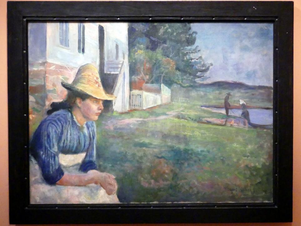 Edvard Munch: Abends, 1888