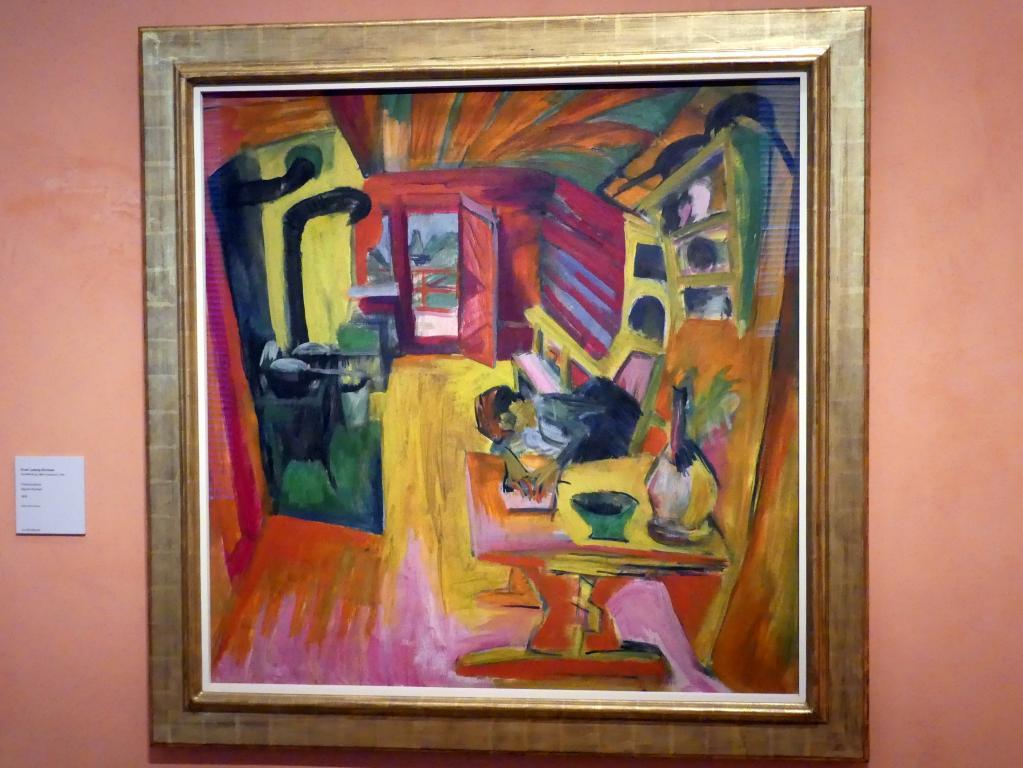 Ernst Ludwig Kirchner: Alpine Küche, 1918