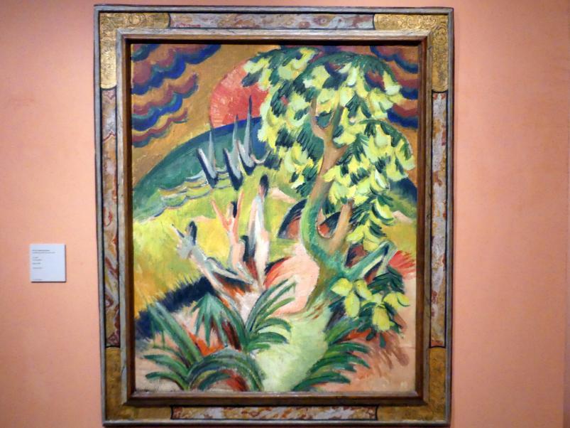 Ernst Ludwig Kirchner: Geschwungene Bucht, um 1914