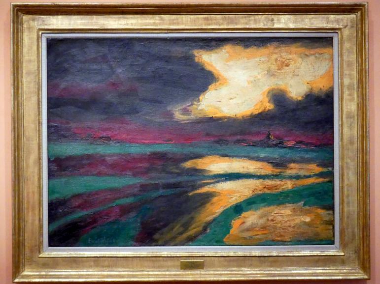 Emil Nolde: Herbstabend, 1924