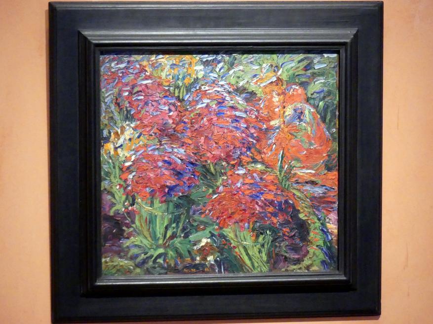 Emil Nolde: Rote Blumen, 1906