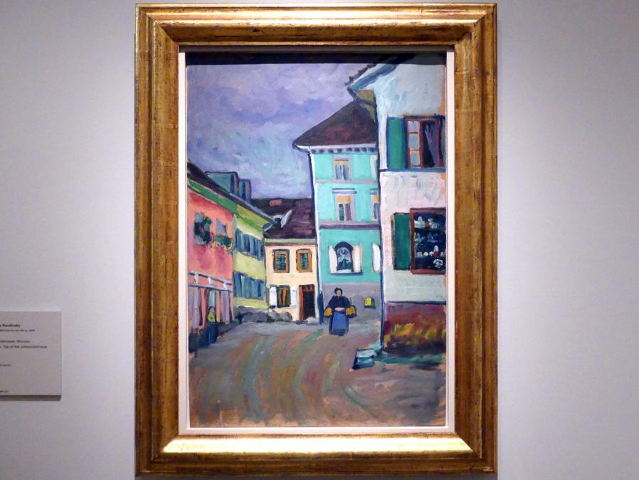 Wassily Kandinsky: Murnau. Beginn der Johannisstraße, 1908