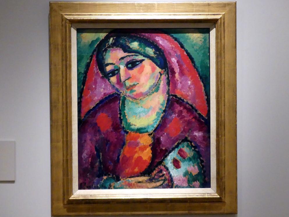 Alexej von Jawlensky: Roter Schleier, 1912