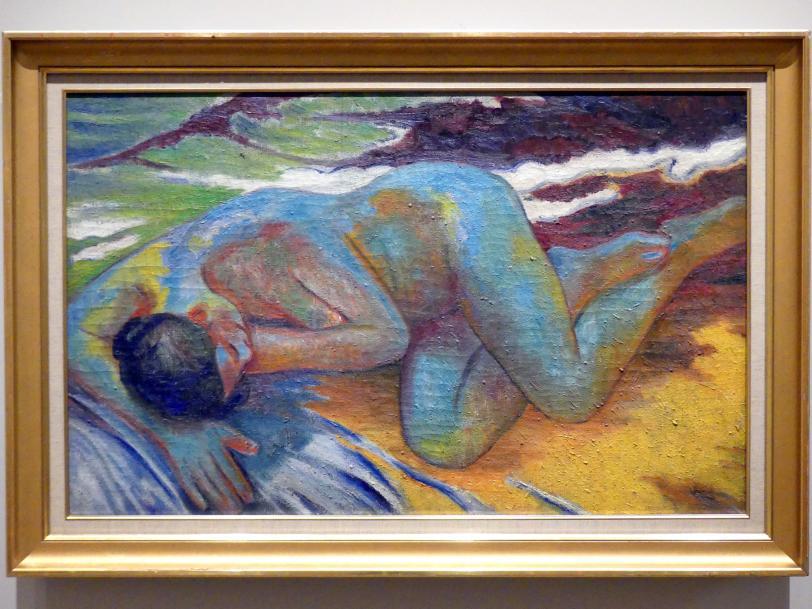 Michail Fjodorowitsch Larionow: Blauer Akt, um 1908