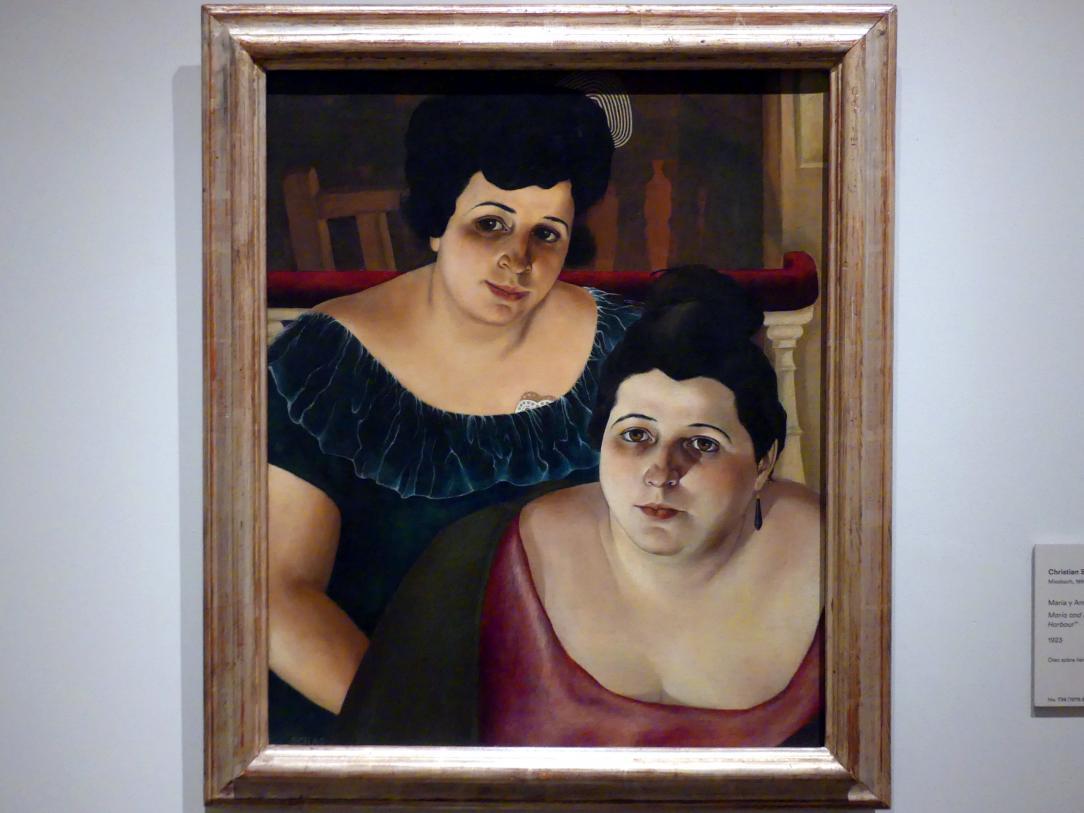Christian Schad: Maria und Annunziata 'vom Hafen', 1923