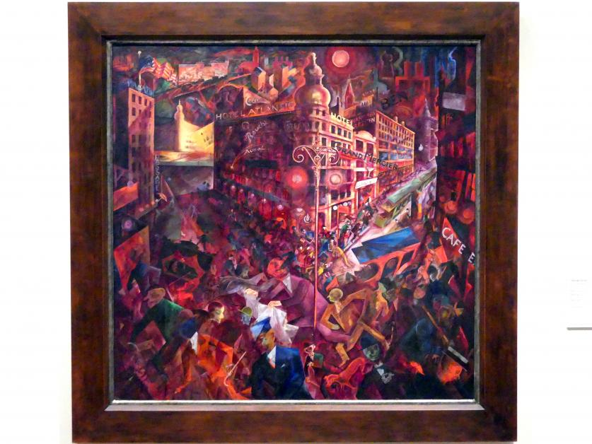 George Grosz: Metropolis, 1916 - 1917