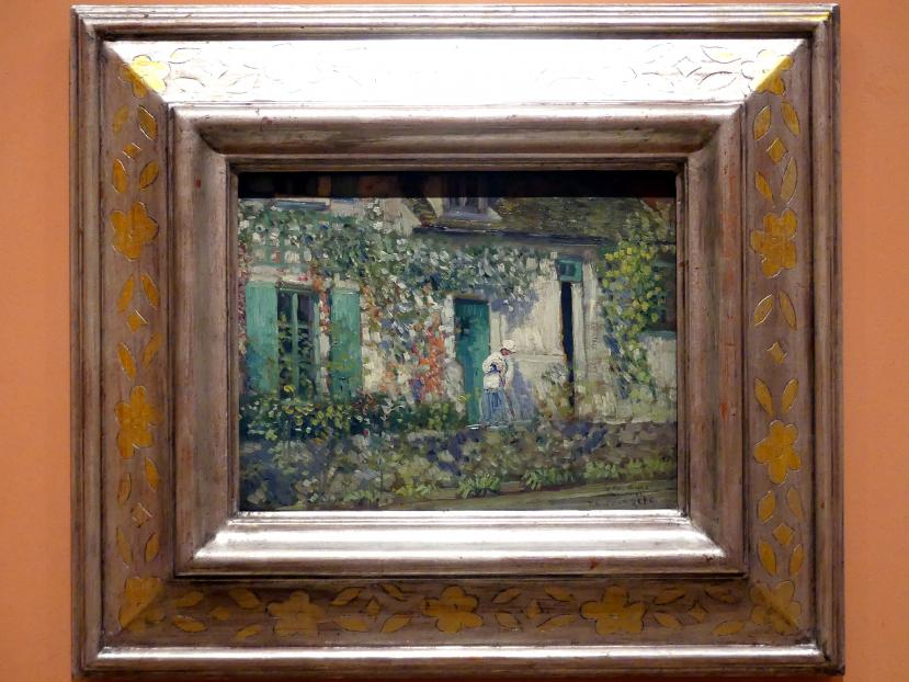 Frederick Carl Frieseke: Das Haus in Giverny, Um 1912