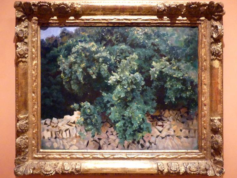 John Singer Sargent: Steineiche, Mallorca, 1908