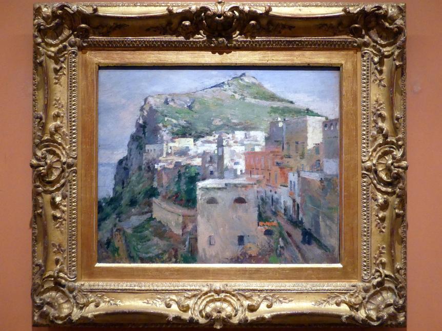 Theodore Robinson: Insel Capri, 1890