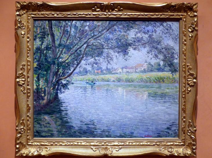 Henri Lebasque: Ufer des Flusses Marne bei Montévrain, um 1900