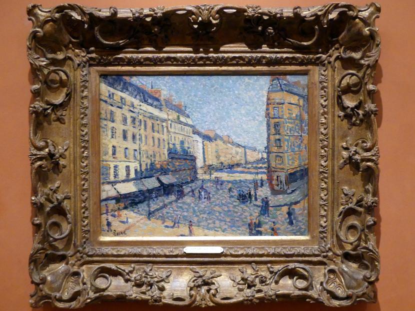 Maximilien Luce: Straßen von Paris, 1886 - 1888
