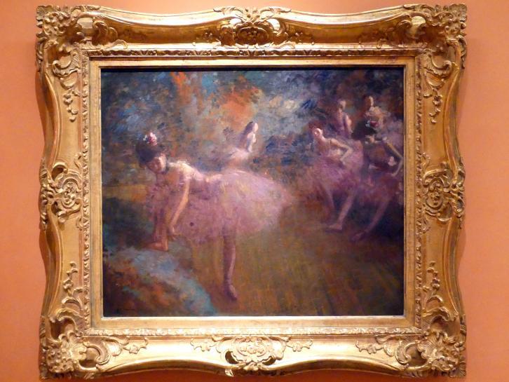 Jean-Louis Forain: Tänzerinnen in Rosa, um 1905