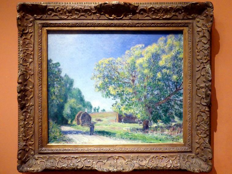 Alfred Sisley: Waldlichtung, 1895