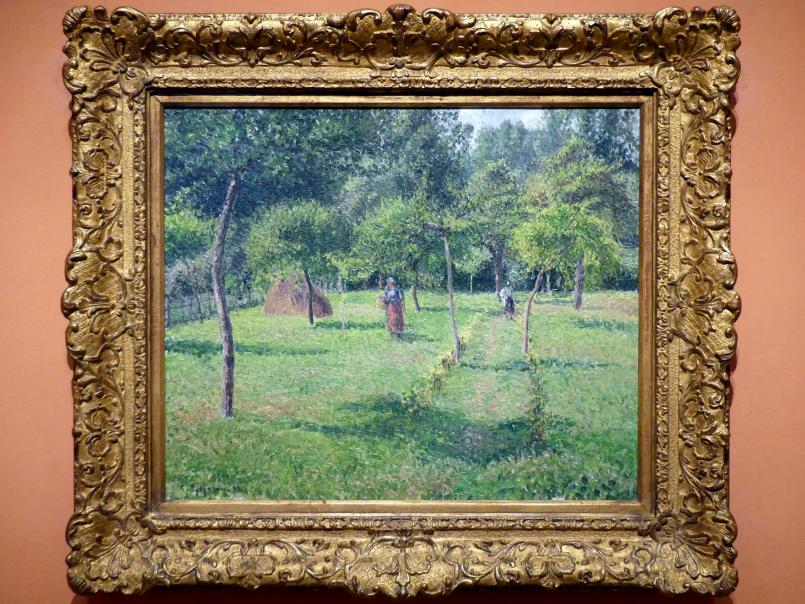 Camille Pissarro: Obstgarten in Éragny, 1896