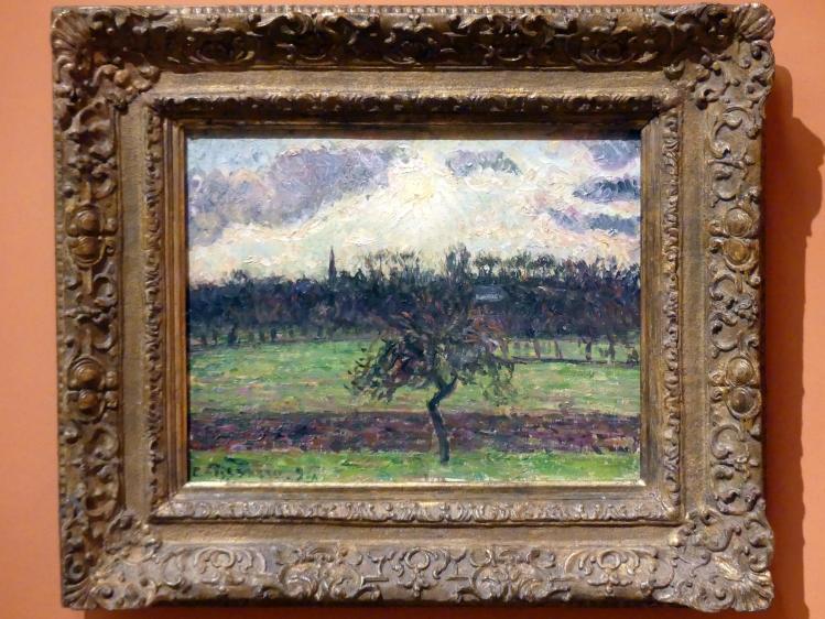 Camille Pissarro: Wiesen in Éragny, Apfelbaum, 1894