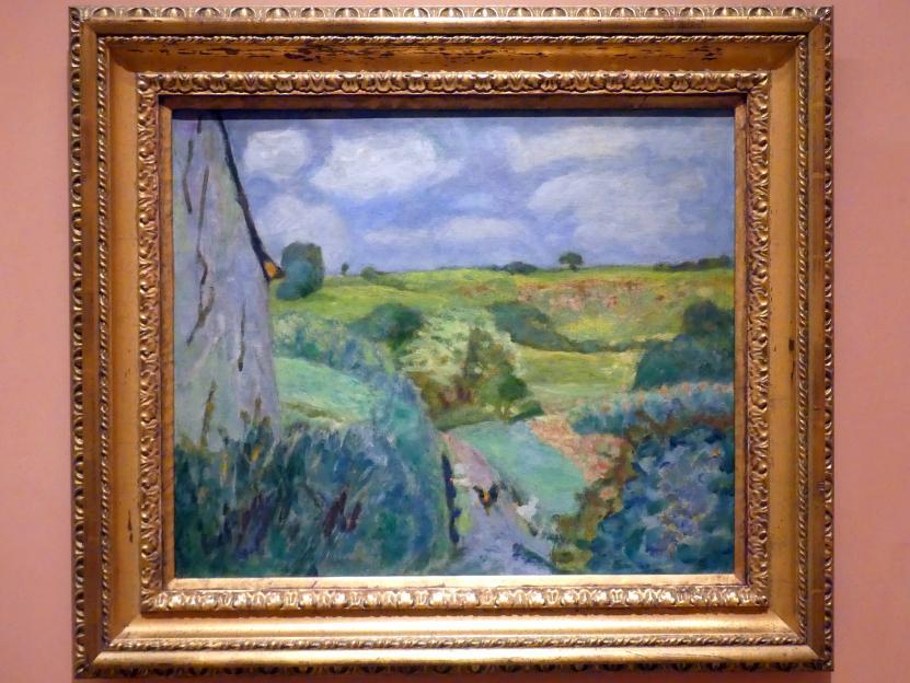 Pierre Bonnard: Versunkener Pfad, 1922
