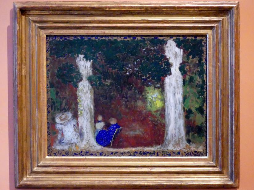 Édouard Vuillard: Unter den Bäumen, um 1897 - 1899