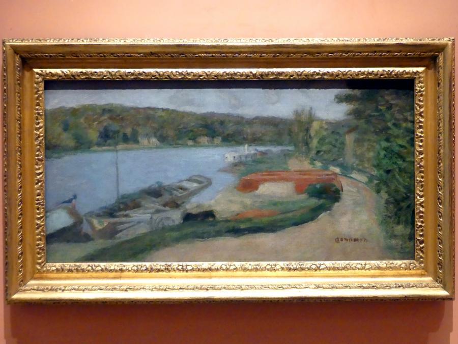 Pierre Bonnard: Die Seine bei Vernon, um 1920