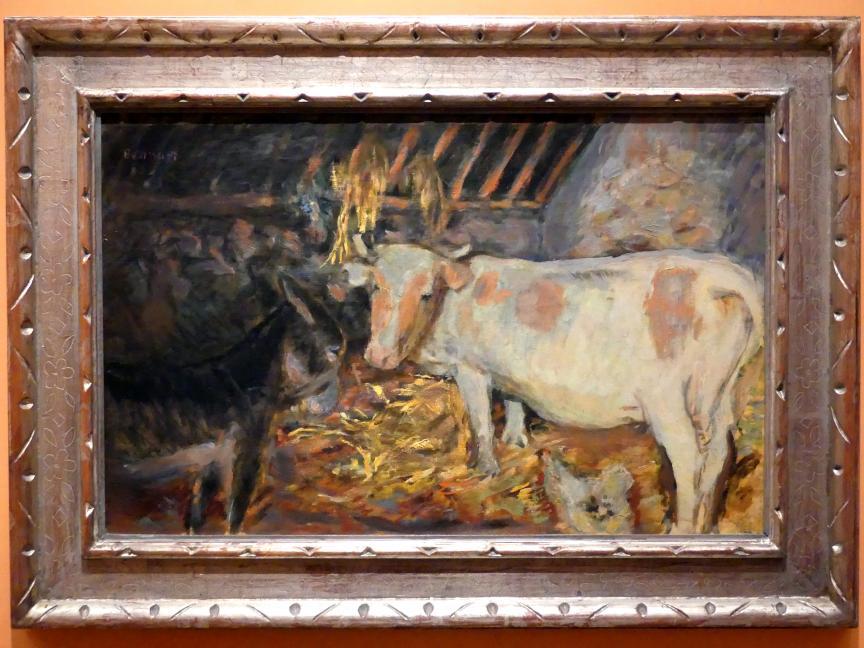 Pierre Bonnard: Scheune (Kuh im Stall), 1912