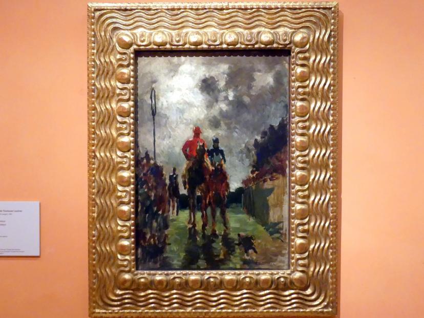 Henri de Toulouse-Lautrec: Die Rennreiter, 1882