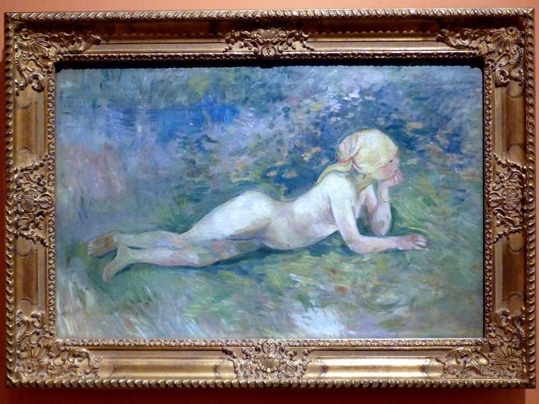 Berthe Morisot: Liegender Akt einer Hirtin, 1891
