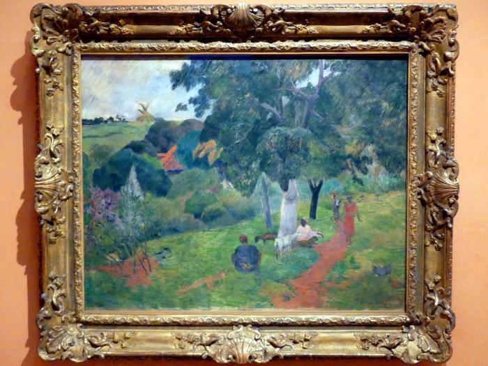 Paul Gauguin: Kommen und Gehen auf Martinique, 1887