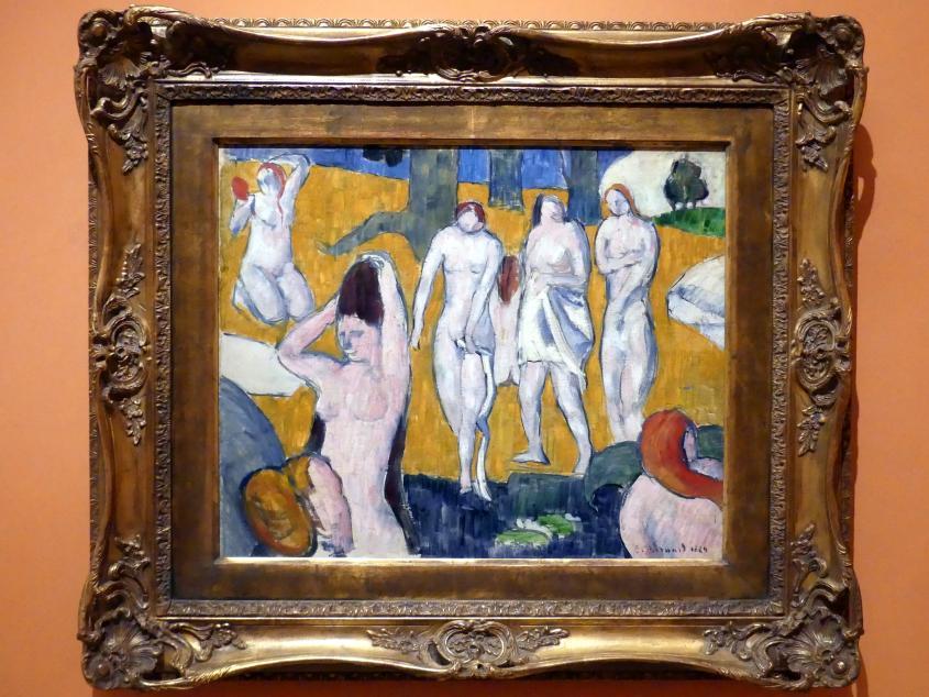Émile Bernard: Badende Frauen, 1889