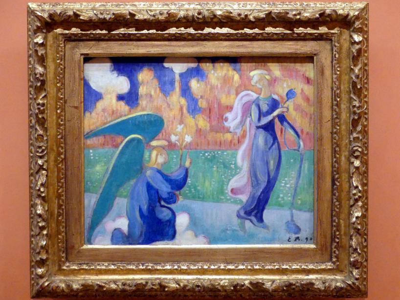 Émile Bernard: Verkündigung an Maria, 1890