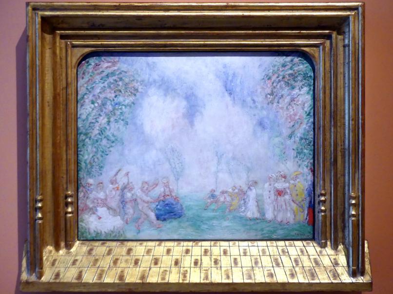 James Ensor: Liebesgarten, um 1925