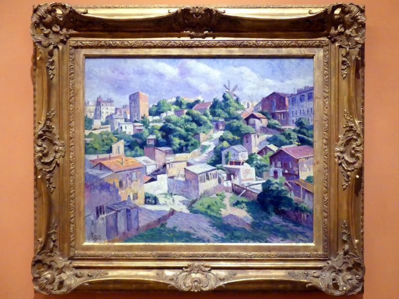 Maximilien Luce: Buschwerk, Montmartre, 1904