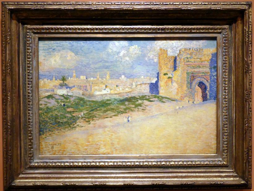 Théo van Rysselberghe: Bab Mansour in Meknès, Marokko, 1887