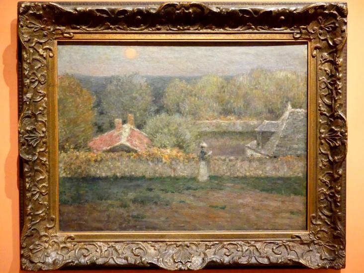 Henri Le Sidaner: Herbstabend, 1895