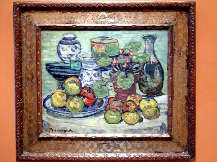 Maurice Brazil Prendergast: Stillleben mit Äpfeln, um 1910 - 1913