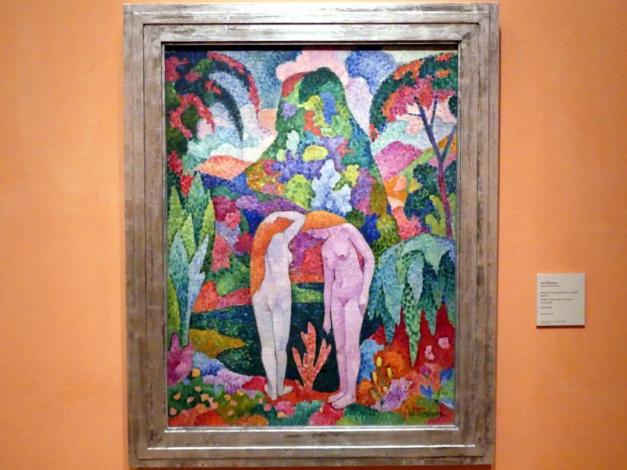 Jean Metzinger: Badende (Zwei Akte in einer exotischen Landschaft), um 1905