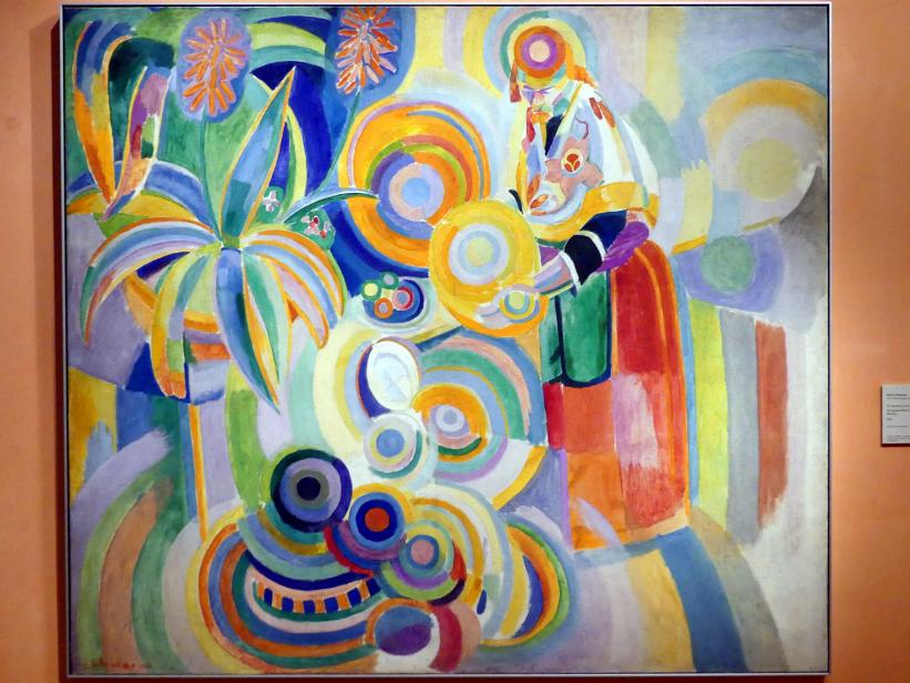 Robert Delaunay: Portugieserin (Große portugiesische Frau), 1916