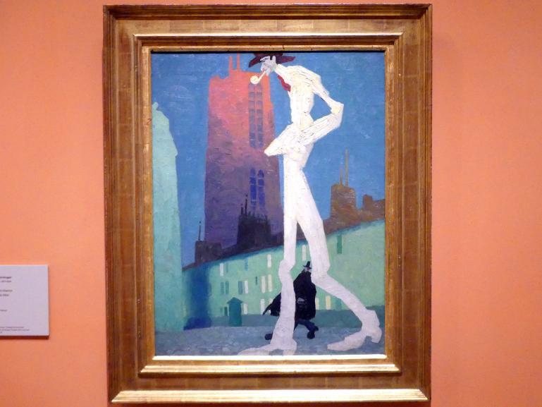 Lyonel Feininger: Der weiße Mann, 1907