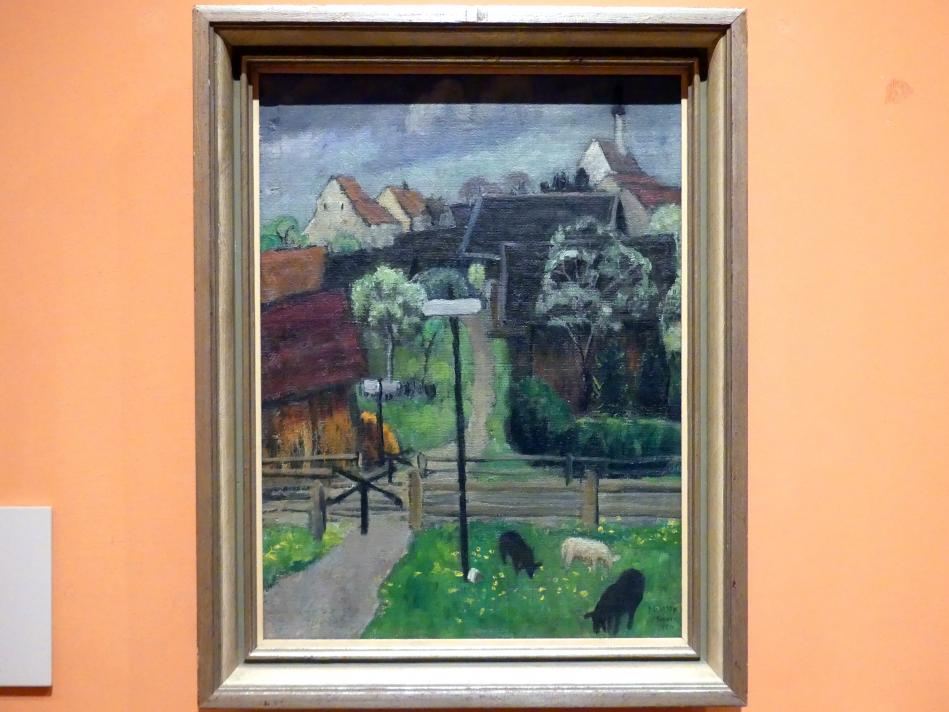 Gabriele Münter: Murnau im Mai, 1924