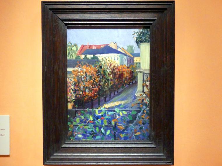Gabriele Münter: Blick vom Haus ihres Bruders in Bonn, 1908