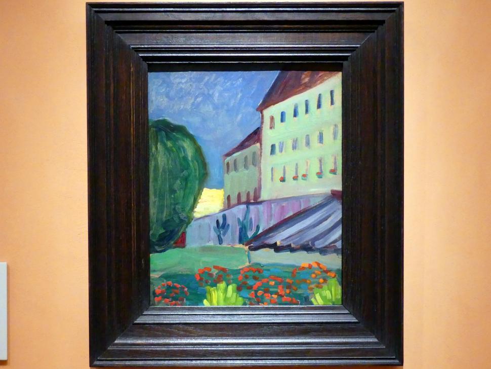 Gabriele Münter: Schule in Murnau, 1908