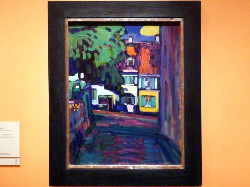Wassily Kandinsky: Häuser am Obstmarkt in Murnau, 1908