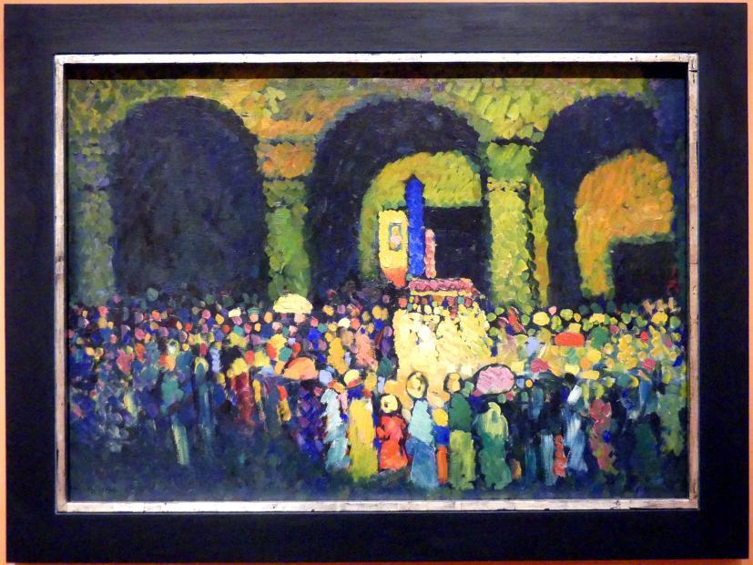 Wassily Kandinsky: Die Ludwigskirche in München, 1908