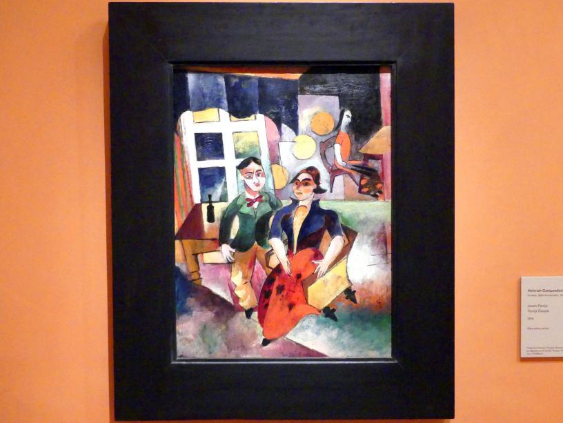Heinrich Campendonk: Junges Paar, 1915